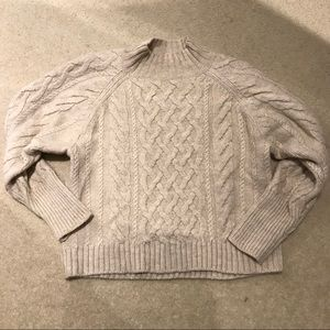 GAP Cable Wool Blend Sweater size Small